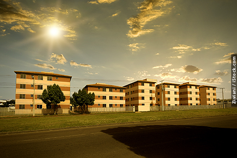 popular housing in Brazil
