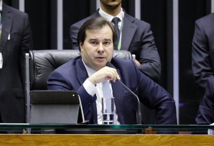Deputado Federal Rodrigo Maia, Presidente da Câmara dos Deputados.
