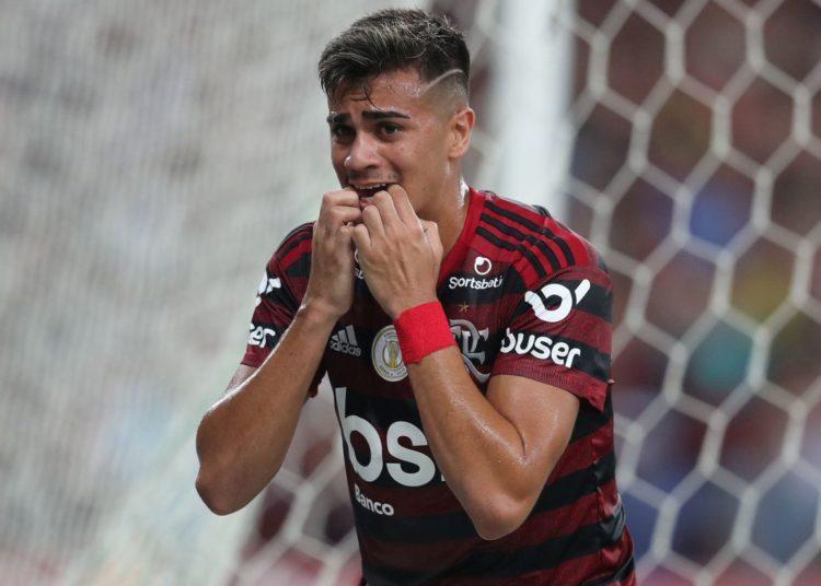 Soccer Football - Brasileiro Championship - Flamengo v Bahia - Maracana Stadium, Rio de Janeiro, Brazil - November 10, 2019   Flamengo's Reinier reacts  REUTERS/Sergio Moraes