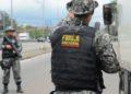Rio de Janeiro - Força Nacional faz ação contra roubo de cargas na Avenida Brasil, durante operação em conjunto com militares, polícias estaduais e Rodoviária Federal, nas rodovias do estado (Tomaz Silva/Agência Brasil)