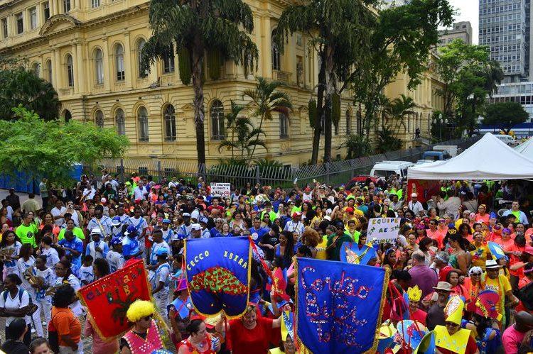 São Paulo, bloco, carnaval, mais saúde, agência Brasil