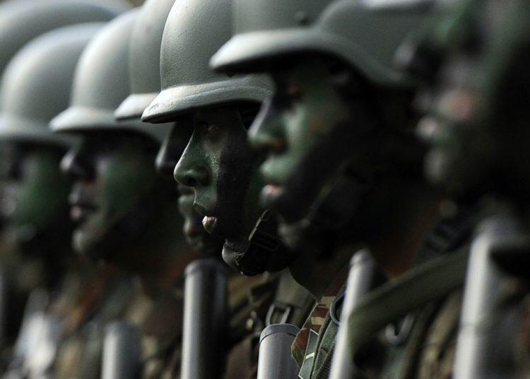 Forças armadas no desfile cívico-militar de 07 de setembro na Esplanada dos Ministérios