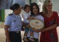 O grupo de repatriados da China que está em quarentena na Base Aérea de Anápolis são liberados na manhã desse Domingo