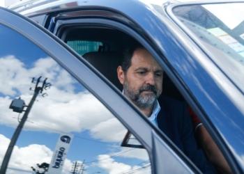 Brasília(DF), 04/02/2016 - Ex-governador Agnelo Queiroz presta depoimento na DECAP no SIA - Foto: Daniel Ferreira/Metrópoles