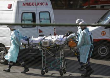 Hospital Regional da Asa Norte (HRAN)- Movimentação de paciente em hospital do Distrito Federal durante o surto de covide-19 Sérgio Lima/Poder360 29.06.2020