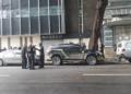 Polícia Federal cumpriu mandado de busca na sede da Cimento Nassau, no Bairro do Recife, nesta quarta-feira (5) — Foto: Danilo César/TV Globo