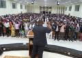 DIVULGAÇÃO/IURD Legenda da foto, Igreja Universal do Reino de Deus iniciou suas operações em Angola em 1992 e tem mais de 300 templos no país