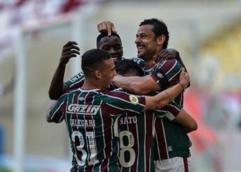 No Maracanã, Fluminense e Red Bull Bragantino se enfrentaram pela 22ª rodada do Brasileirão Assaí Créditos: Thiago Ribeiro/AGIF