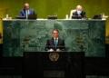 Aos líderes mundiais, ele falou sobre a preservação do meio ambiente, avanço da vacinação contra a Covid-19 e dos atrativos do Brasil aos investidores - Foto: Alan Santos/PR