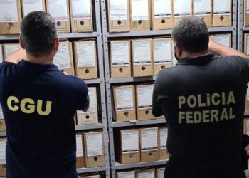 Operação Klopês consiste no cumprimento de 11 mandados de busca e apreensão no Distrito Federal e em Minas Gerais / Foto: Divulgação CGU.