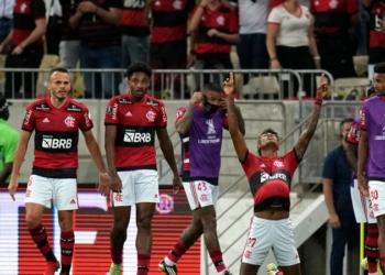 Flamengo e Barcelona duelaram na Libertadores - GettyImages.