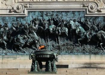 São Paulo - Monumento à Independência do Brasil no Parque da Independência, em Ipiranga.