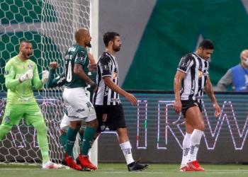 Palmeiras e Atlético-MG duelaram na Libertadores - GettyImages