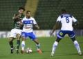 Confiança venceu de virada o Guarani em Campinas (SP) Créditos: Diogo Reis/AGIF.