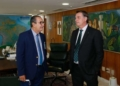 Bolsonaro com Silas Malafaia; pastor também tem criticado ministros do Supremo Foto: Isac Nobrega / PR