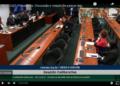 Reunião da comissão especial que analisou a proposta / Foto: Reprodução TV Câmara / Fonte: Agência Câmara de Notícias