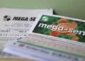 Bilhetes de aposta da mega-sena. Foto: Tania Rego/Agência Brasil.